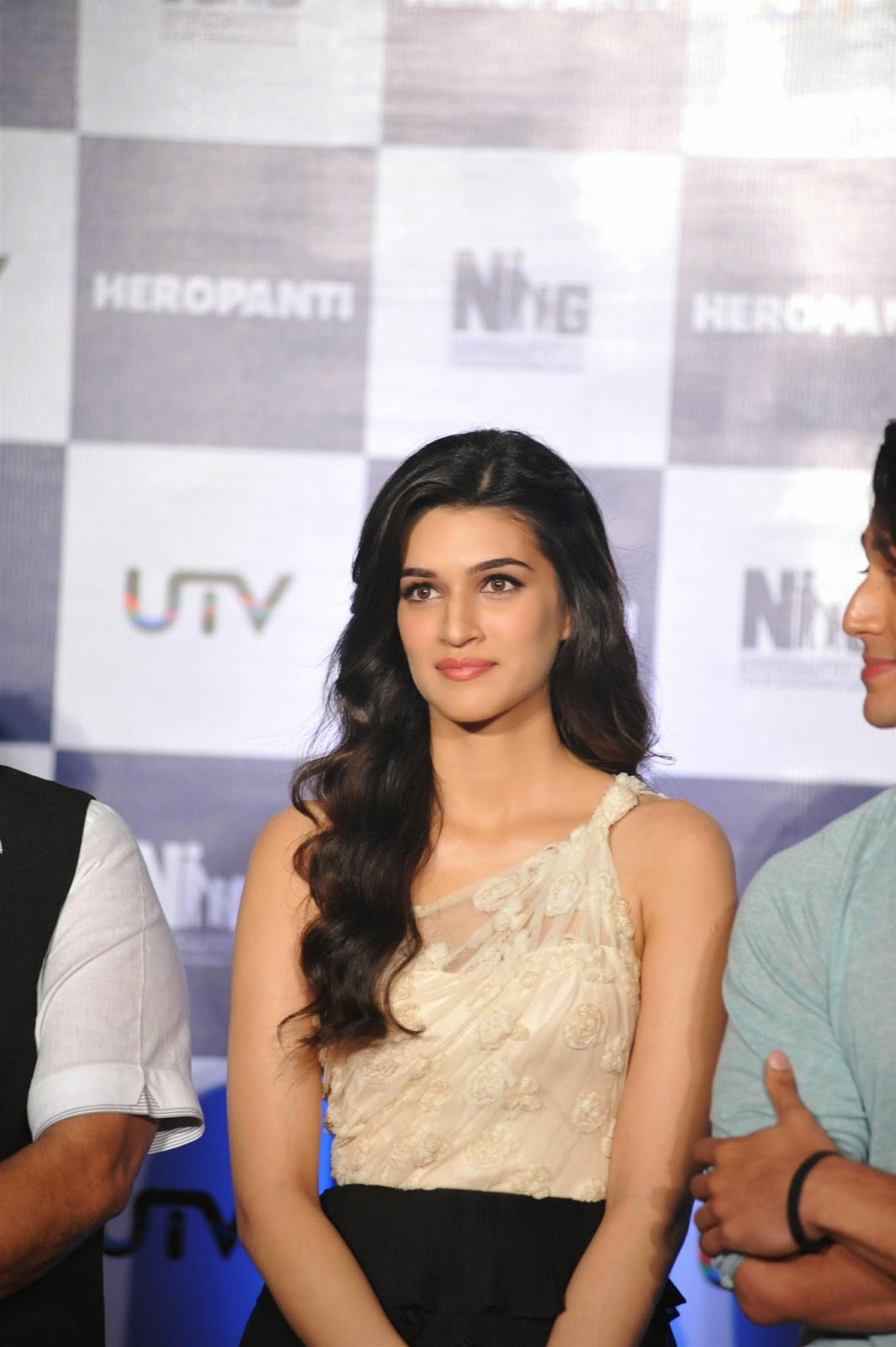 Kriti Sanon at First Look Launch of Heropanti Movie