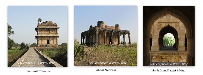 Chanderi ruins