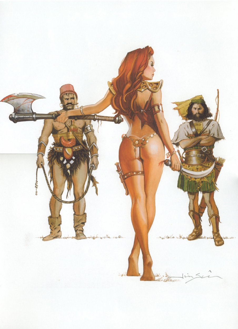 Barbarian and archer doing sex naked hentay photos