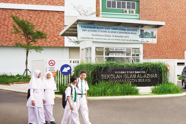 Sekolah Al Azhar di Summarecon Bekasi