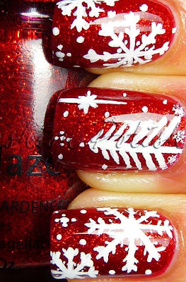 christmas tree nails snowflake christmas nails for girls red christmas tree nails