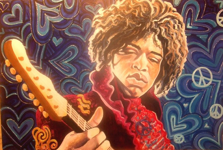 "Jimi Hendrix ""Purple Haze"""
