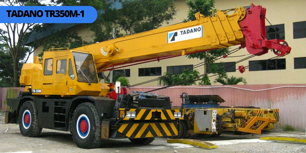 Kato 70t Rough Terrain Crane Load Chart : Tadano tr m rough terrain crane ton cranepedia
