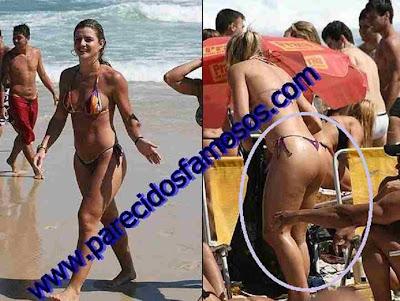 Brasileña X BBB Mirella Santos celulitis