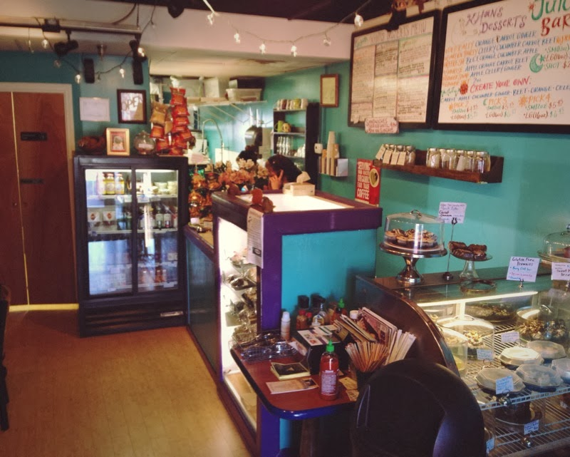 A review of Khan's vegan bakery and cafe in Nashville Tennessee