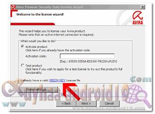 Key Avira Antivirus Premium 13.0.0.4052