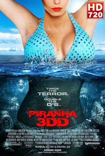 Piraña 3D 2 (Piranha 3DD) (2012) Online