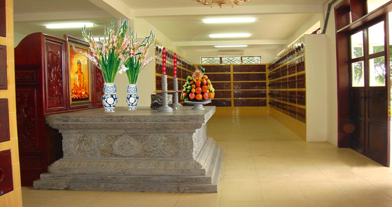Nhà Lưu Tro Cốt tại Hoa Viên Nghĩa Trang Bình Dương
