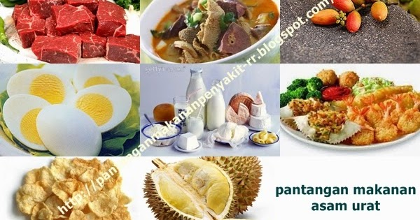 Pantangan Makanan Untuk Penderita Asam Urat ~ Pantangan ...