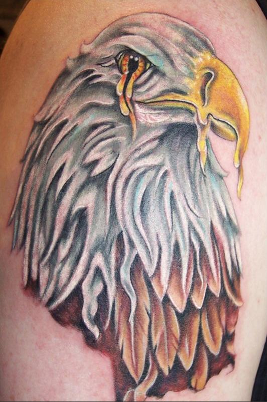 Display Your Strength With Eagle Tattoos