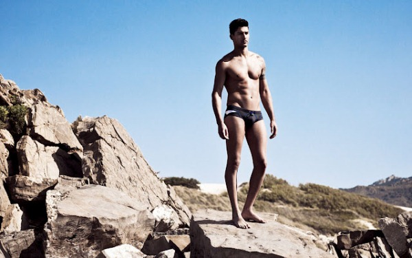 HOM men's swimwear summer 2012