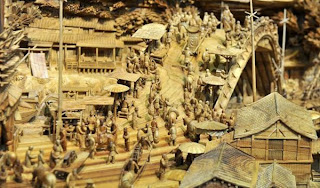 Chinese longest Wood Carving Art