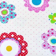 Tela flores patchwork