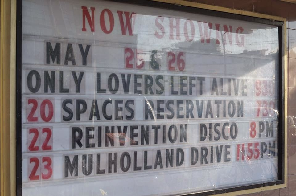 Rio Theatre in East Van Advertises indie feature: Spaces and Reservations