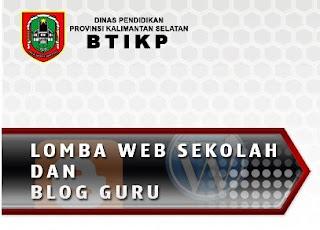 Lomba Blog Guru dan Website Sekolah Tahun 2013