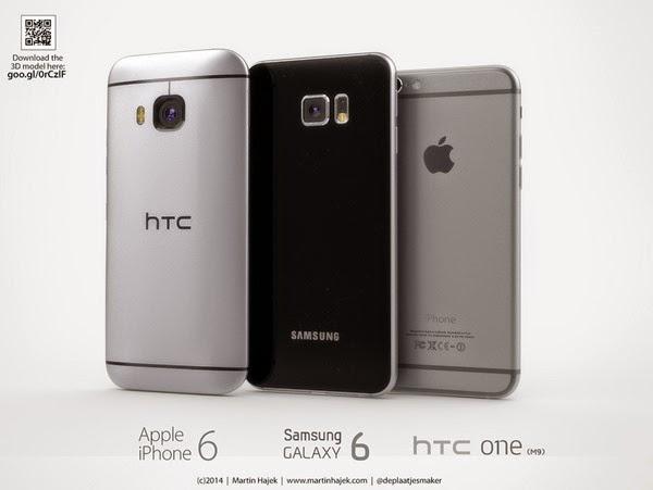 Samsung-Galaxy-S6-vs-Apple-iPhone6-vs-HTC-One-M9-Technology