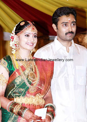 Actress Sneha Wedding Jewellery