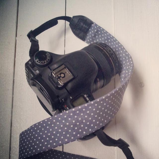 selbstgenähtes Kameraband