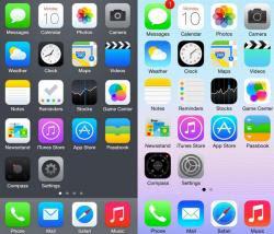 cambiamenti nell'aggiornamento per iPhone