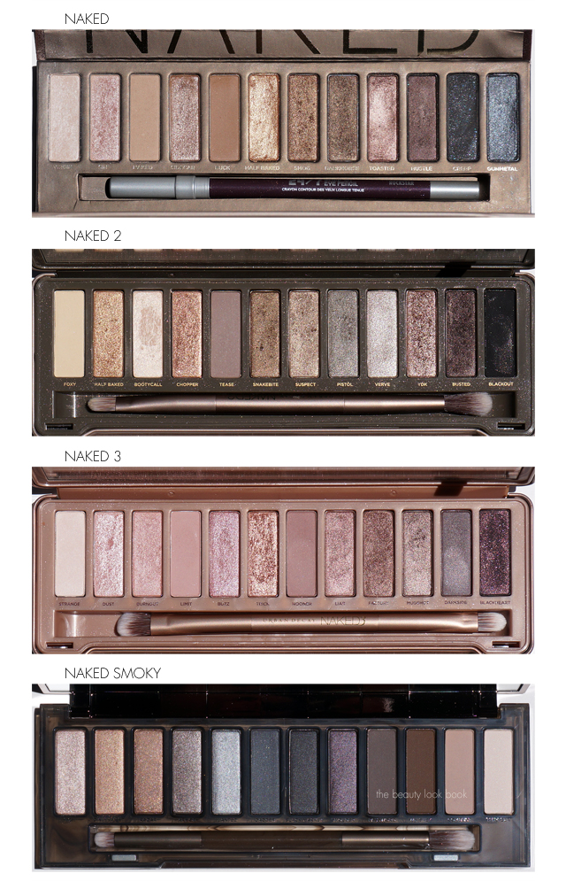 the beauty look book urban decay naked smoky palette. Black Bedroom Furniture Sets. Home Design Ideas