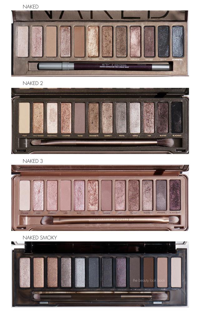 Urban Decay Naked 2 vs. The Original Naked Palette