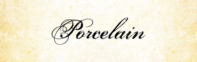 Porcelain | 大文字だけ飾りラインが強調されたバランスが良くて使いやすそうな筆記体フリーフォント。商用OK。