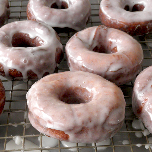 Food Pusher: Gluten Free Raised Donuts
