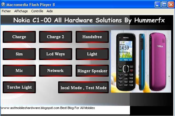 Nokia C1-00 All Hardware Latest Solution Repair Pack