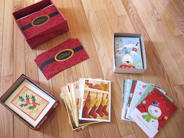 Sew many ways make your own christmas address labels for How to make your own christmas cards