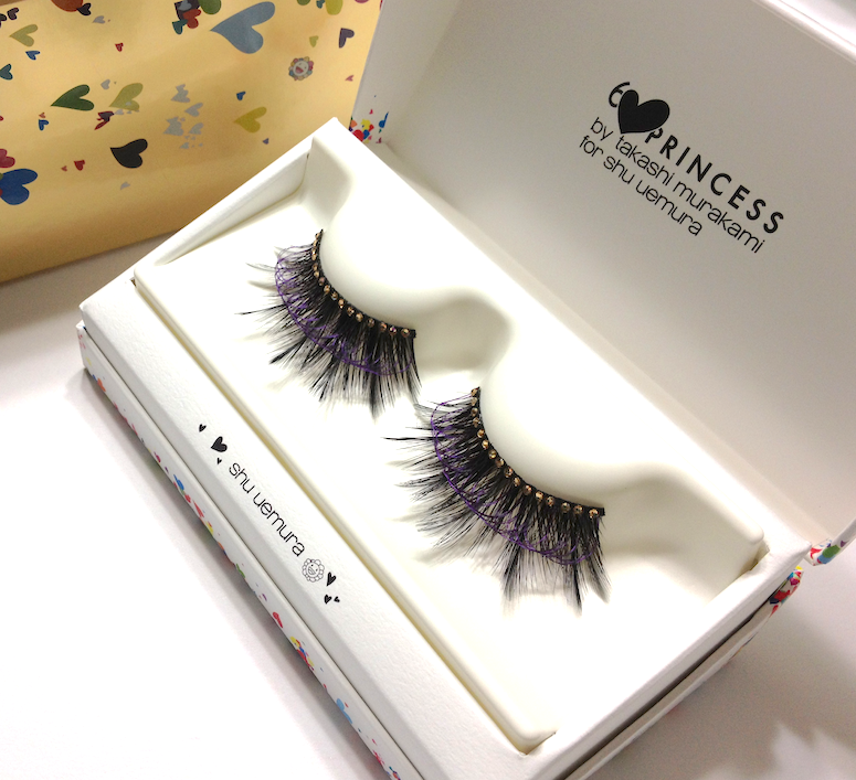 Black Jewel on Wing False Eyelashes (Premium Edition) Shu Uemura Takashi Murakami