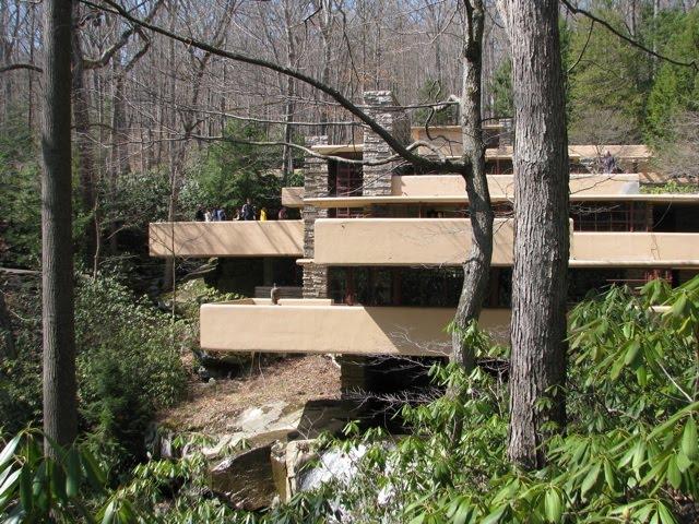 Potomac micmac la maison sur la cascade fallingwater - La maison sur la cascade ...