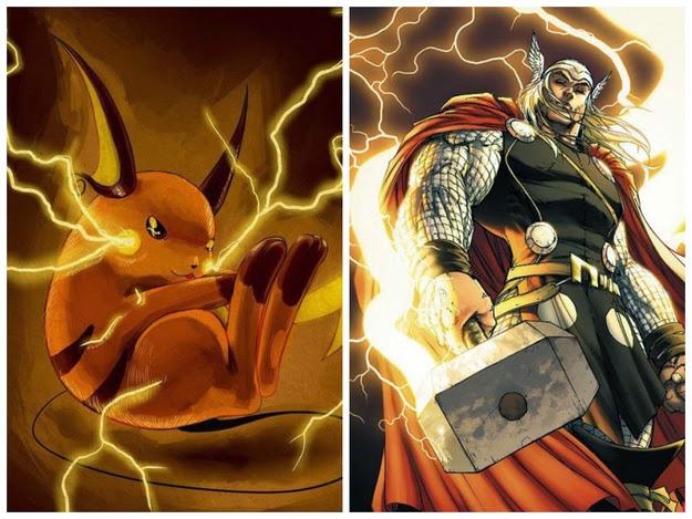 Thor - Raichu