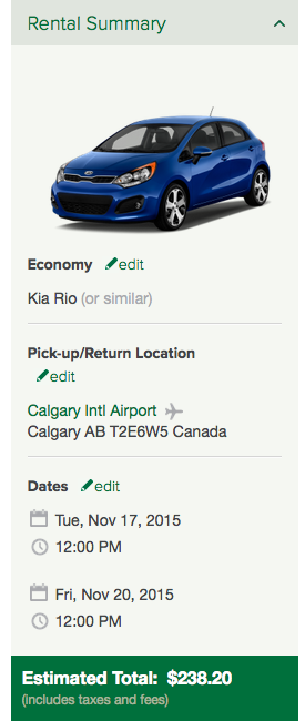 how to get trade in value of a car canada