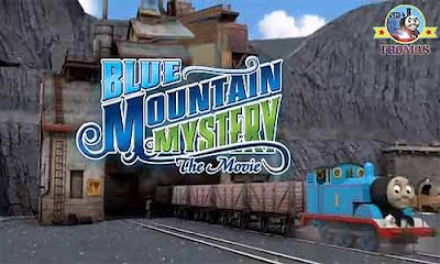 Blue mountain mystery Thomas the tank engine and friends DVD Blu Ray families 2012 calendar of film