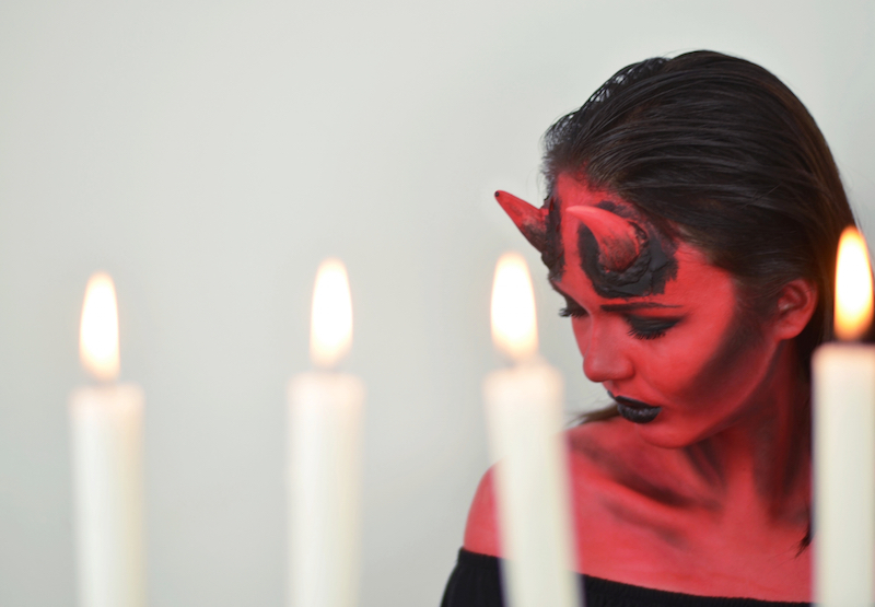 Teufel_Halloween_Make_Up_sexy_Devil_FaschingKarneval