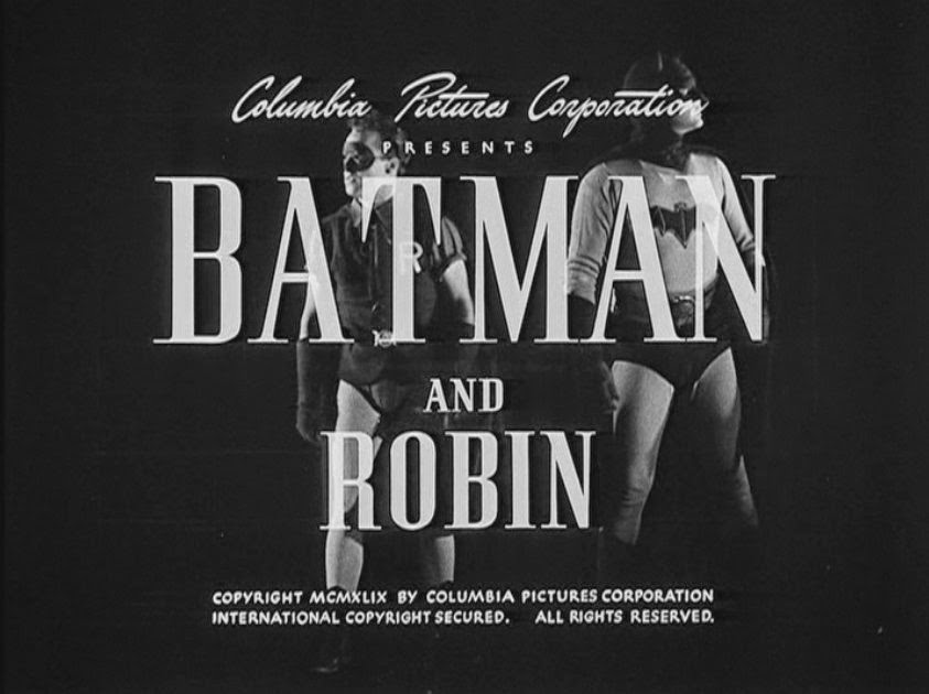 Batman y Robin serial 1949