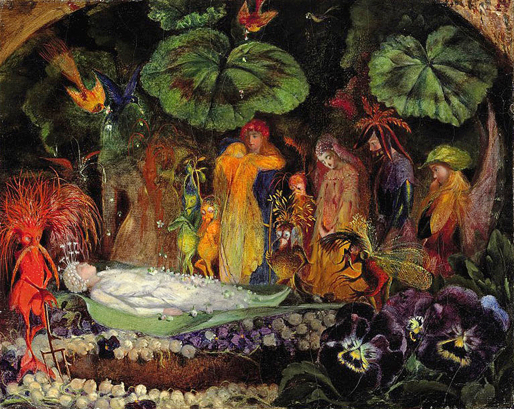 Victorian British Painting John Anster Fitzgerald