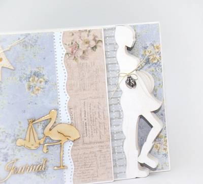 handmade pregnancy album journal