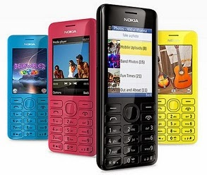 Nokia Asha 206 worth Rs.4999 for Rs.3689 with Free Shipping at Rediff (Lowest Price)