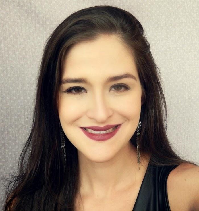 Tutorial maquiagem Maria Clara