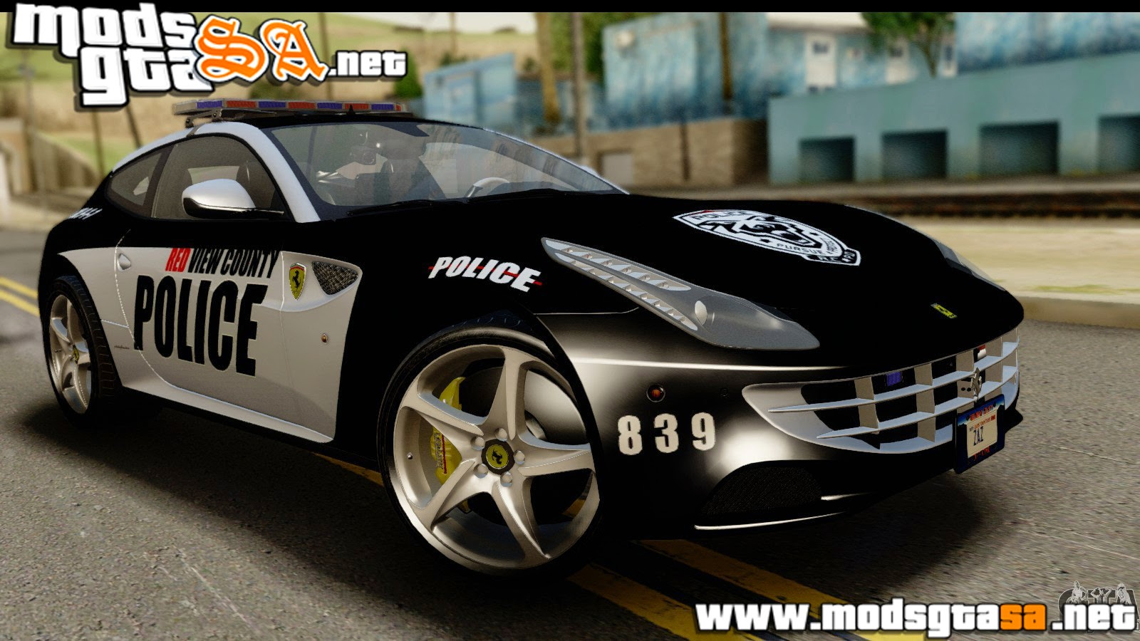 SA - Ferrari FF da Polícia do NFS Rivals