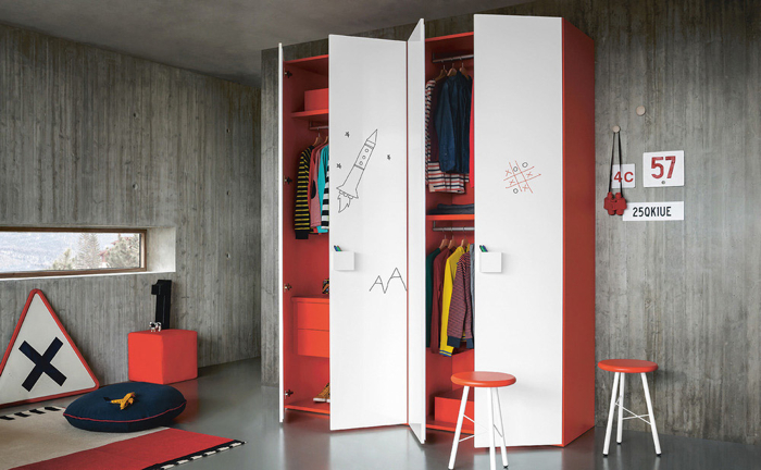 Battistella children furniture collection NIDI from Itally