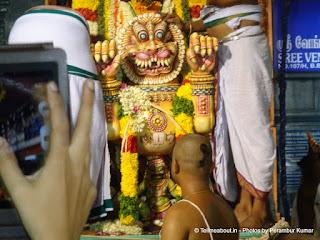 Lord Venkateswara on Simha Vahanam - 7