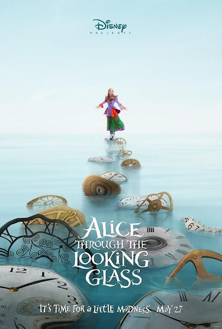 Disney revela los dos primeros pósters de 'Alice Through the Looking Glass'