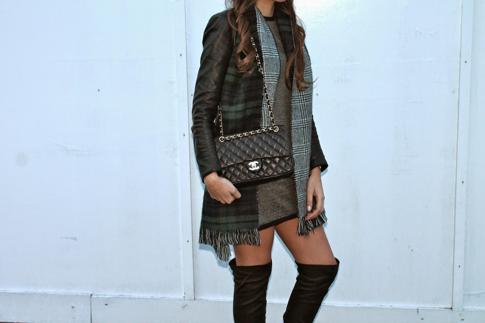 ootd zara jacquard dress and thigh high boots this is teral