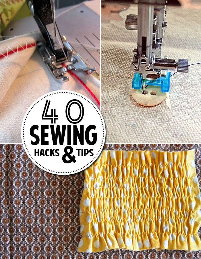 40 Sewing Hacks & Tips you Need to Know