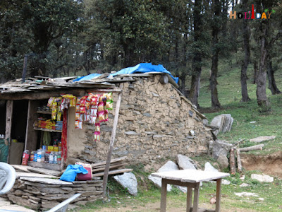 Tea stall near Serolsar Lake