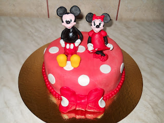 Tort Mickey&Minnie Mouse