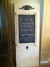 Sold- Distressed Door
