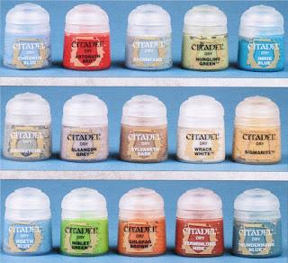nuevos tonos gama dry colors Citadel